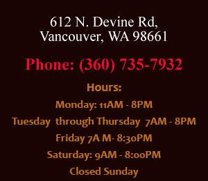Vancouver WA Restaurant Ducktales Hours